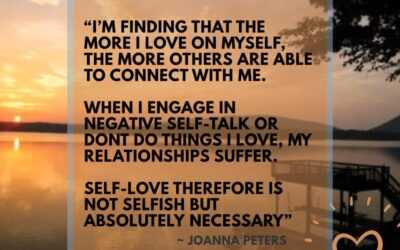 Quit Feeling Selfish, Self-Love benefits everyone!