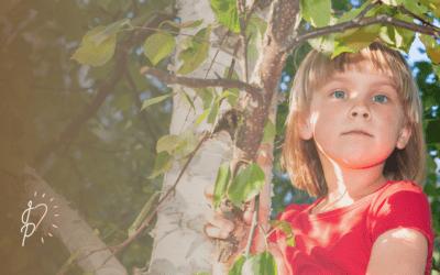 she used to climb trees…